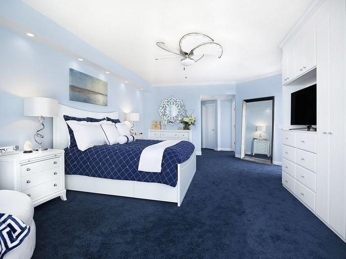 Ковролин в интерьере спальни - лучшие фото и советы по выбору